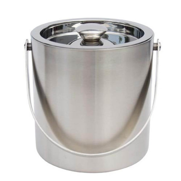 Nakshatra Stainless Steel Double Walled Ice Bucket