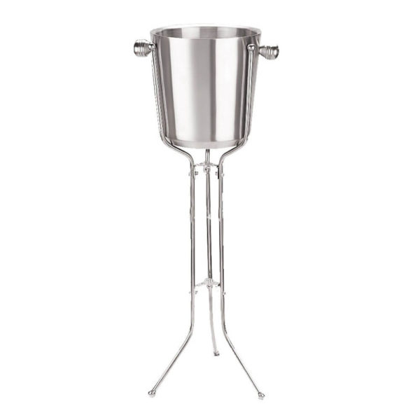 Double Wall Champagne Bucket With Stand