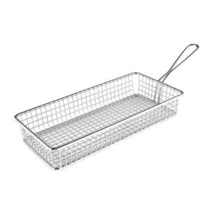 Nakshatra Stainless Steel Rectaguler Welded Basket Filter Fryer