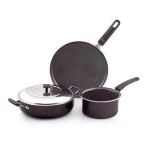Nakshatra Spatter Non Stick Cookware Gift Set