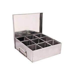 Nakshatra Stainless Steel Commercial Masala Dabba Spice Box