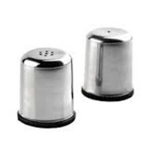 Nakshatra Stainless Steel Economy Salt and Pepper