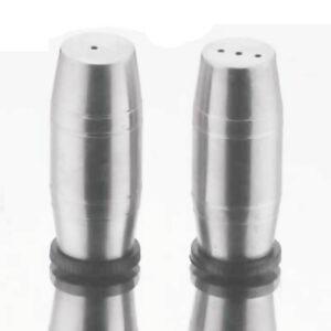 Nakshatra Stainless Steel Dholak Salt and Pepper