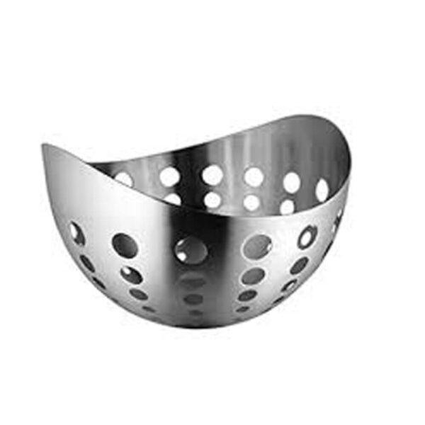 Nakshatra Stainless Steel Boat Fruit Basket