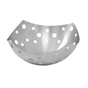 Nakshatra Stainless Steel Polka Fruit Basket