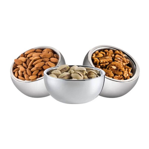 Nakshatra Stainless Steel Candy Vegetable Bowl Set