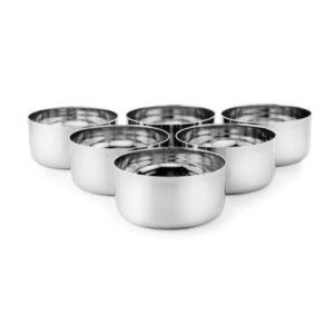 Nakshatra Stainless Steel Sada Wati Vegetable Bowl